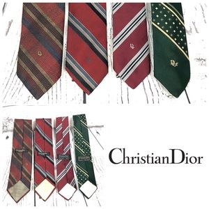 Christian Dior LOT of Mens ties.